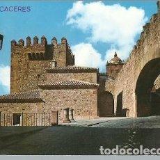 Postales: POSTAL A COLOR CACERES TORRE DE BUJACO EDICIONES ARRIBAS. Lote 226818870