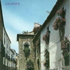 Postales: POSTAL A COLOR CACERES. Lote 226819040