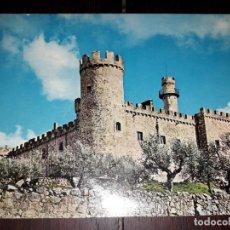 Postales: Nº 41396 POSTAL CASTILLO DE LA HERGUIJUELA CACERES. Lote 227110140