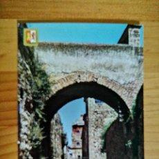 Postales: POSTAL - CÁCERES - ARCO DE ADARVE, SIGLO XV.. Lote 227949895