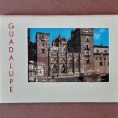 Postales: ALBUM DESPLEGABLE 10 POSTALES. EDICIONES GARCÍA GARRABELLA. GUADALUPE. CÁCERES.. Lote 228029130