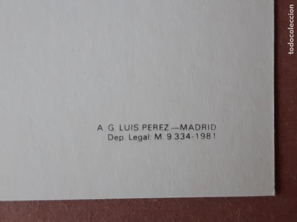 Postales: 25 POSTALES MONASTERIO DE SAN JERÓNIMO DE YUSTE. CARLOS V. LUÍS PÉREZ. CÁCERES. 1987. SIN CIRCULAR. - Foto 6 - 228174140