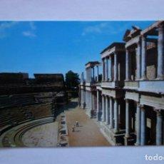 Postales: TARJETA POSTAL MERIDA ANFITEATRO ROMANO POSTCARD COLECCIONISMO CIUDADES SPAIN. Lote 228193720