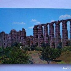 Postales: TARJETA POSTAL MERIDA ACUEDUCTO ROMANO LOS MILAGROS POSTCARD COLECCIONISMO SPAIN. Lote 228194070