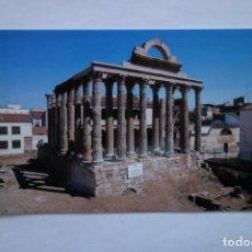 Postales: TARJETA POSTAL MERIDA TEMPLO DE DIANA POSTCARD COLECCIONISMO CIUDADES SPAIN. Lote 228194482