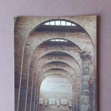Cartes Postales: POSTAL NAVE PRINCIPAL. MUSEO NACIONAL DE ARTE ROMANO. MÉRIDA. BADAJOZ. SIN CIRCULAR.. Lote 228312405