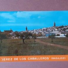 Postales: POSTAL 23 SAN-PI. VISTA PARCIAL. JEREZ DE LOS CABALLEROS. BADAJOZ. 1973. SIN CIRCULAR.. Lote 228318635