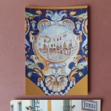 Cartes Postales: LOTE 2 POSTALES FARMACIA DEL LICENCIADO ANTONIO MARTÍNEZ BUZO. ZAFRA. BADAJOZ. SIN CIRCULAR.. Lote 228325915