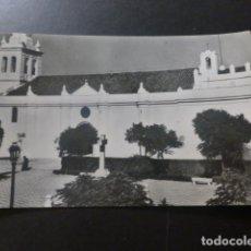 Postales: VILLAFRANCA DE LOS BARROS BADAJOZ PASEO Y ERMITA DE NUESTRA SEÑORA DE LA CORONADA ED. HELIOTIPIA MAD. Lote 233038880