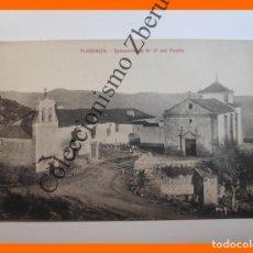 Postales: PLASENCIA (CACERES): SANTUARIO DE NUESTRA SEÑORA DEL PUERTO, PAPELERÍA DE HONTIVEROS. Lote 233522175