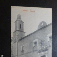 Postales: CACERES AUDICENCIA EDICION VIUDA DE MANUEL CILLEROS. Lote 234172240