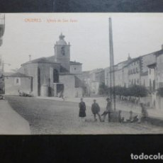 Postales: CACERES IGLESIA DE SAN JUAN EDICION VIUDA DE MANUEL CILLEROS. Lote 234172675