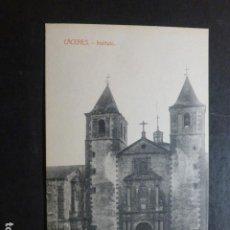 Postales: CACERES INSTITUTO EDICION VIUDA DE MANUEL CILLEROS. Lote 234172730