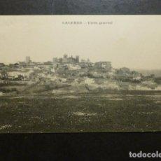 Postales: CACERES VISTA GENERAL ED. M. CILLEROS PHOTOTYPIE J. BIENAIME REIMS. Lote 234173310