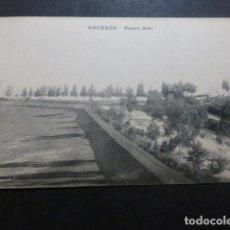 Postales: CACERES PASEO ALTO ED. M. CILLEROS PHOTOTYPIE J. BIENAIME REIMS. Lote 234173445