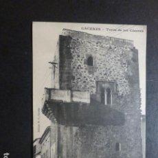 Postales: CACERES TORRE DE LOS CACERES ED. M. CILLEROS PHOTOTYPIE J. BIENAIME REIMS. Lote 234173610