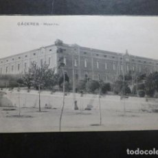 Postales: CACERES HOSPITAL. Lote 234174460