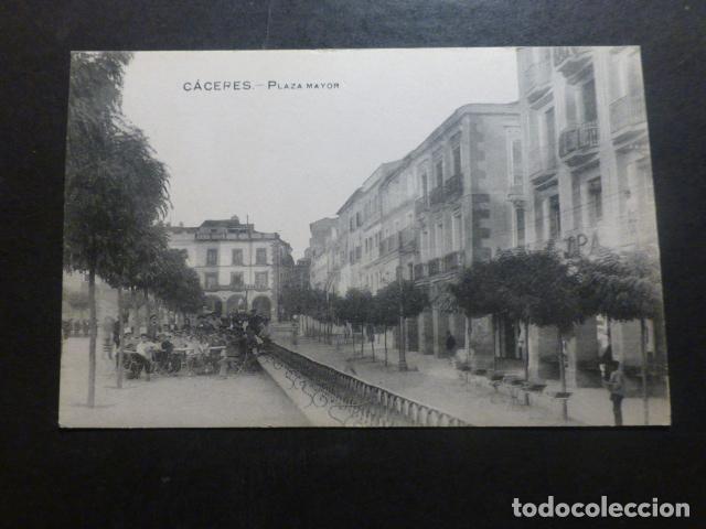CACERES PLAZA MAYOR (Postales - España - Extremadura Antigua (hasta 1939))