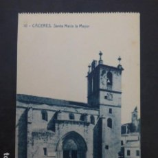 Postales: CACERES SANTA MARIA LA MAYOR A ED. THOMAS. Lote 235224980