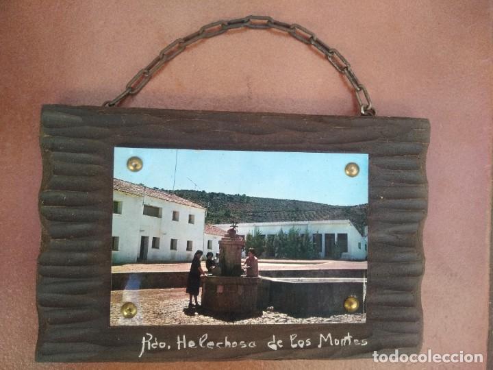 Postales: Cuadro postal recuerdo de helechosa de los montes, extremadura - Foto 2 - 235282340