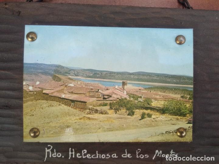 CUADRO POSTAL RECUERDO DE HELECHOSA DE LOS MONTES, EXTREMADURA (Postales - España - Extremadura Moderna (desde 1940))