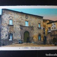 Postales: CACERES PALACIO EPISCOPAL ED, L. ROISIN COLOREADA. Lote 235812260