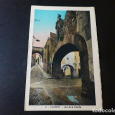 Postales: CACERES ARCO DE LA ESTRELLA ED. L. ROISIN COLOREADA. Lote 235812845
