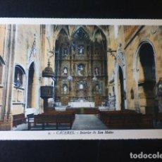Postales: CACERES INTERIOR DE SAN MATEO ED. L. ROISIN COLOREADA. Lote 235814125