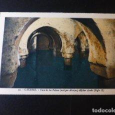 Postales: CACERES CASA DE LOS VELETAS ANTIGUO ALCAZAR ALJIBE ARABE ED. L. ROISIN COLOREADA. Lote 235814740