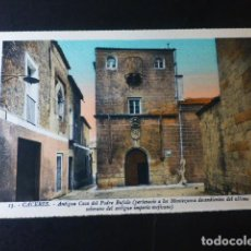 Postales: CACERES ANTIGUA CASA DEL PADRE BUFALO ED. L. ROISIN COLOREADA. Lote 235814915