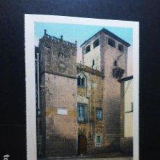 Postales: CACERES PALACIO DE LOS GOLFINES ED. L. ROISIN COLOREADA. Lote 235815605