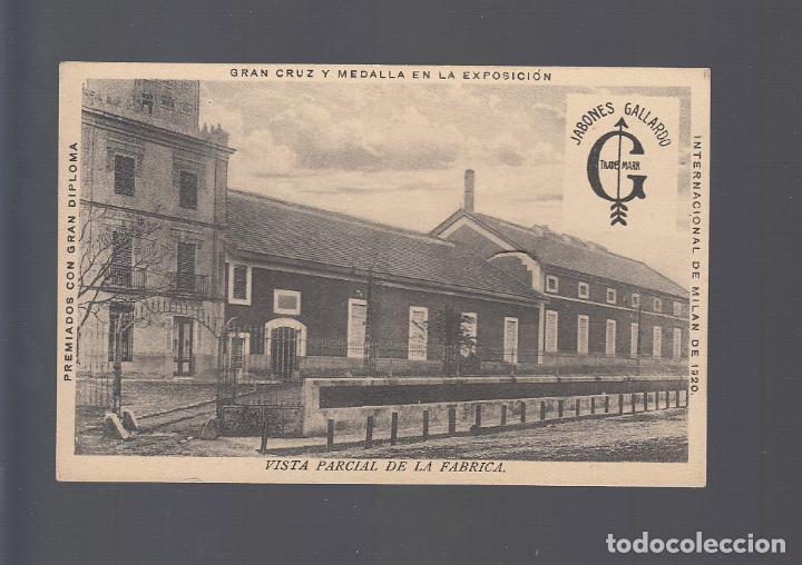 VILLANUEVA DE LA SERENA (BADAJOZ).- JABONES GALLARDO. VISTA PARCIAL DE LA FABRICA (Postales - España - Extremadura Antigua (hasta 1939))