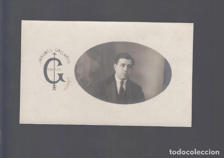 VILLANUEVA DE LA SERENA (BADAJOZ).- JABONES GALLARDO. (Postales - España - Extremadura Antigua (hasta 1939))