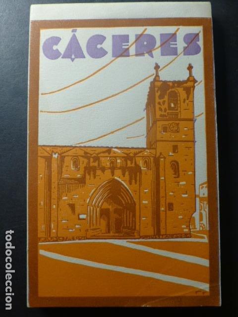 CACERES CUADERNO 20 POSTALES COMPLETO ED. L. ROISIN (Postales - España - Extremadura Antigua (hasta 1939))