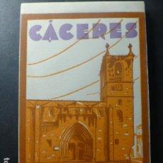 Postales: CACERES CUADERNO 20 POSTALES COMPLETO ED. L. ROISIN. Lote 236151065