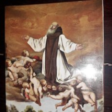 Postales: Nº 5343 POSTAL GUADALUPE CACERES APOFEOSIS DE SAN JERONIMO CUADRO ZURBARAN. Lote 236849560