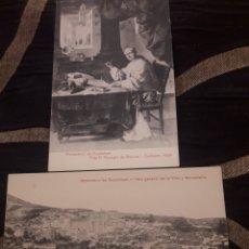 Postales: DOS ANTIGUAS FOTOTIPIAS DE GUADALUPE. Lote 237125145
