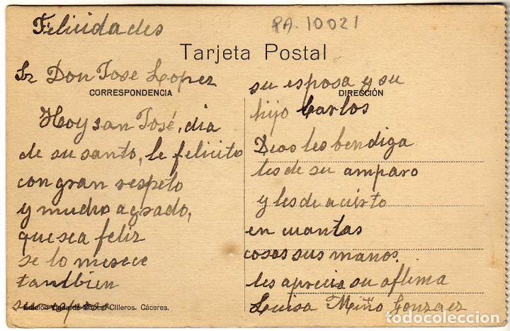 Postales: BONITA POSTAL - CACERES - PLAZA MAYOR - Foto 2 - 235847085