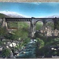 Postais: HERVAS - CACERES - PUENTE DE HIERRO - FOTO MARTIN - AÑOS 60. Lote 239665610