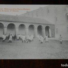Postales: POSTAL DE VILLAFRANCA DE LOS BARROS, BADAJOZ, COLEGIO DE SAN JOSE, PATIO RECREO 2ª DIVISION, FOTO L. Lote 241839680