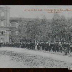 Postales: POSTAL DE VILLAFRANCA DE LOS BARROS, BADAJOZ, COLEGIO DE SAN JOSE, SALIDA DE PASEO, FOTO L. SAUS VA. Lote 241839745