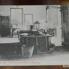 Postales: POSTAL DE VILLAFRANCA DE LOS BARROS, BADAJOZ, COLEGIO DE SAN JOSE, COCINA, FOTO L. SAUS VANDERMAN,. Lote 241840045