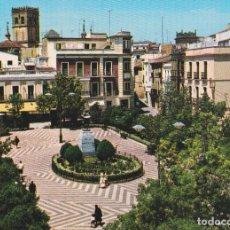 Postais: BADAJOZ, PLAZA DE CERVANTES - GARCIA GARRABELLA Nº8 - EDITADA EN 1964 - S/C. Lote 242165665