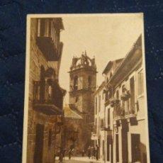 Postales: BAÑOS DE MONTEMAYOR. CÁCERES. PARROQUIA DE SANTA MARÍA. CIRCULADA.. Lote 243245530