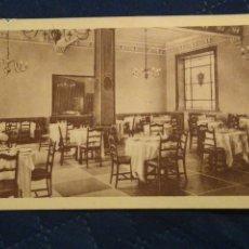 Postales: HOTEL ALFONSO VII PLASENCIA CÁCERES. COMEDOR. CIRCULADA.. Lote 243247060