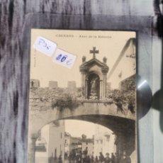 Postales: POSTAL DE CÁCERES, ARCO DE LA ESTRELLA. Lote 243577055