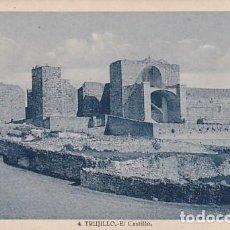 Postales: TRUJILLO 4 EL CASTILLO. FOTO G GUERRA. SIN CIRCULAR.. Lote 243638850