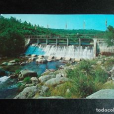 Postales: JARAIZ DE LA VEGA -- CACERES-- GARGANTA PEDRO CHATE ( PRESA ). Lote 244582430