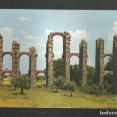 Postales: POSTAL CIRCULADA - MERIDA 8 - ACUEDUCTO ROMANO - EDITA GARCIA GARRABELLA. Lote 244637710