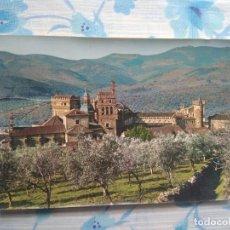 Postales: POSTAL GUADALUPE, VISTA PARCIAL DEL MONASTERIO. Lote 244663620